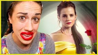 ALL OF BEAUTY AND THE BEAST IN 1 MINUTE!