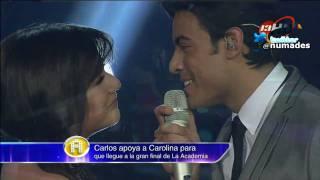 getlinkyoutube.com-carolina y carlos rivera - vivo por ella (12-12-10 la academia bicentenario)