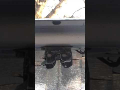 Accent электропривод на багажник