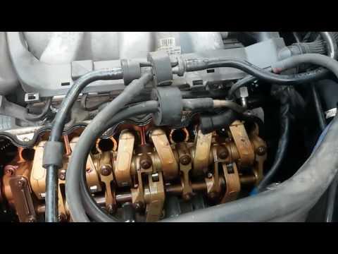 Замена прокладок клапанных крышек мерседес W210 3,2