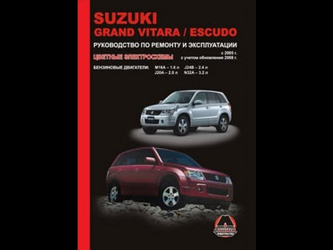 Руководство по ремонту Suzuki Grand Vitara