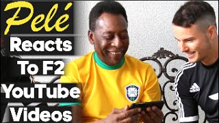 Pelé reacts to F2 Freestylers YouTube Videos...