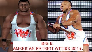 getlinkyoutube.com-How to create Big E in SvR 2011 ps2 (Payback and MITB 2014 attire)