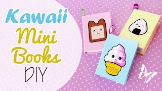 Kawaii Mini Books DIY - Mini Libri Kawaii