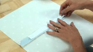 getlinkyoutube.com-Sew.co.uk. An easy way to insert a zip into the back of a cushion cover.