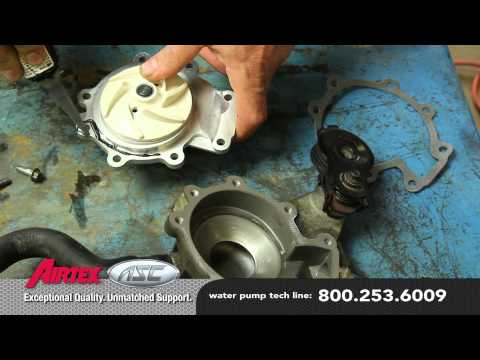 How to Install a Water Pump - Mazda 3.0L WP-9035 AW4091