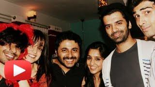 getlinkyoutube.com-Sanaya Irani Faces Mohit Sehgal And Barun Sobti Together!