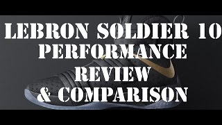 getlinkyoutube.com-Nike Lebron Soldier 10 Performance Review & Comparison