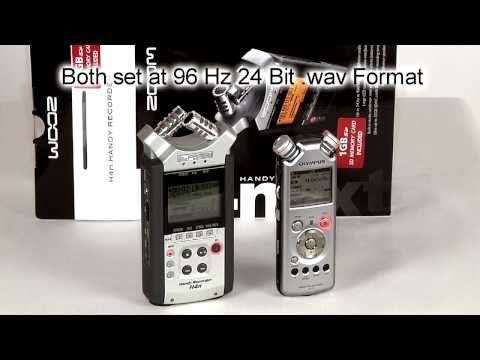 Zoom H4n & Olympus LS-11 Audio Comparison