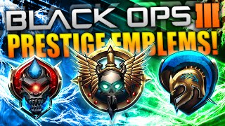 getlinkyoutube.com-Black Ops 3 PRESTIGE EMBLEMS! - (ALL 11 EMBLEMS - COD BO3)