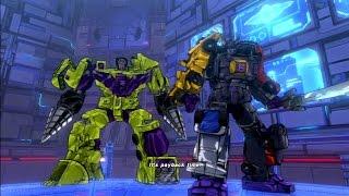 getlinkyoutube.com-Transformers Devastation Boss Fight Devastator Menasor