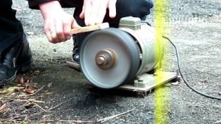 getlinkyoutube.com-диск обувный. Барабан для наждачки. сапожный круг.
