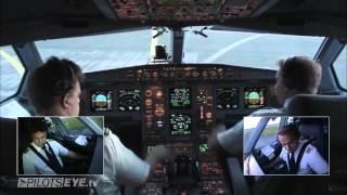 getlinkyoutube.com-Düsseldorf - Malediven Airbus A330 Cockpit View [HD]