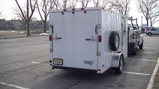 getlinkyoutube.com-Bug Out Vehicle - Cargo Trailer Stealth Camper - Part 1