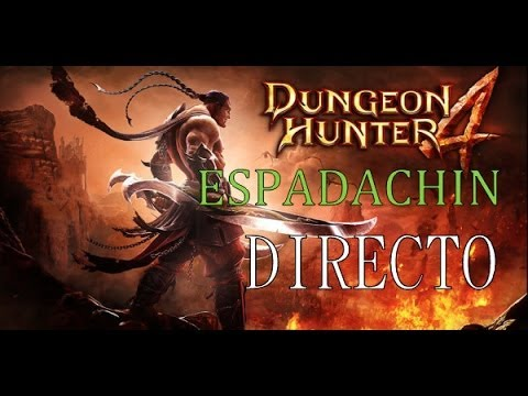 #1 Dungeon Hunter 4 Espadachín Gameplay Español Windows 8