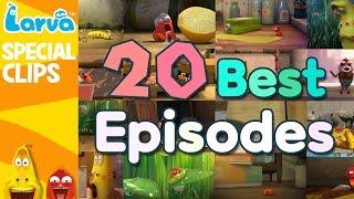 getlinkyoutube.com-[Official] Best Larva Episode - TOP 20