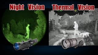 getlinkyoutube.com-Thermal and Night Vision Breakdown by ATN and Fred Eichler