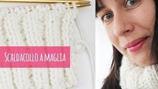 getlinkyoutube.com-Come fare uno scaldacollo a maglia (con spiegazioni chiare)
