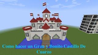 getlinkyoutube.com-Como hacer un Gran y Bonito Castillo De Cuarzo  PT1
