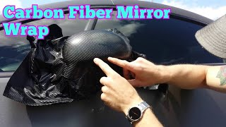 getlinkyoutube.com-How to vinyl wrap your mirrors (outside). Learn how to vinyl wrap alone by @CKWRAPS www.ckwraps.ca