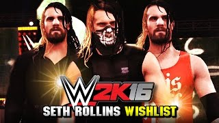 getlinkyoutube.com-WWE 2K16 - Top 5 Seth Rollins Attires We Want! (WWE 2K15 Creations)