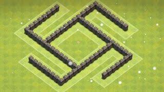 getlinkyoutube.com-Clash of Clans - Town Hall 4 (TH4) Trophy/War Base