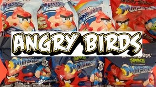 getlinkyoutube.com-Angry Birds Mash'ems Special - 7 Blind Packs Opening
