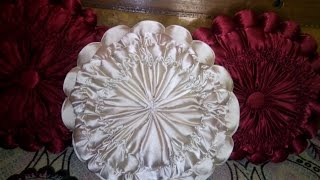 how to prepare smoking decorative cushion at home