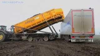 getlinkyoutube.com-2X Areco BLW Hooglosser Bieten laden en lossen (ERF)