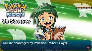 Pokémon Champion Title Challenge 53: Sawyer (Game edited)