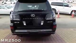 getlinkyoutube.com-اسعار لكزس سوبر شارج الجزء 5  اسود من جوا اسود سعوي 750 الف Lexus LX 570 Sport Supercharg