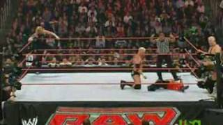 getlinkyoutube.com-Jeff Hardy & Rey Mysterio vs Mr Kennedy & Finlay - RAW