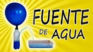 getlinkyoutube.com-Como Hacer una Fuente de Agua ( Experimento Casero)