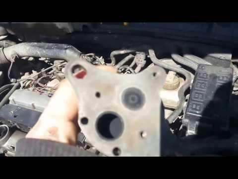 Где в Rover 75 кран отопителя