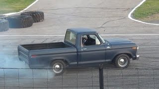 1975 Ford F100 CLOSE CALL (Spectator Drags)