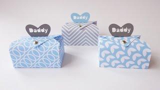 getlinkyoutube.com-Scatola bauletto festa del papà - Coffer box Father's day