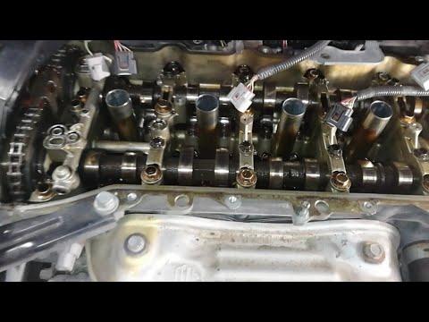 Toyota Venza. Замена прокладки клапанной крышки.