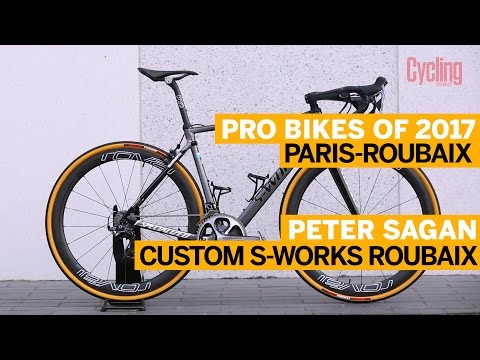 Peter Sagan's Specialized S-Works Roubaix | Pro Bikes of 2017 | Cycling Weekly