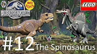 getlinkyoutube.com-Jurassic World Lego Game Level 12: The Spinosaurus Gameplay Walkthrough By WD Toys