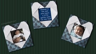 How to make a heart frame for Father's Day
