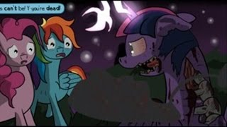 [MLP Halloween Comic Dub] Twilight Fright (DARK)