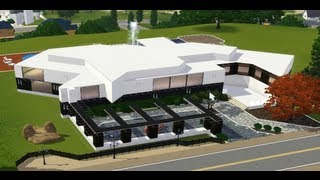 getlinkyoutube.com-Sims 3 Modern House