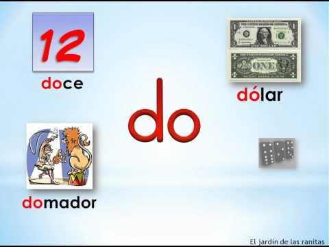 # 7 Sílabas da de di do du - Syllables with D