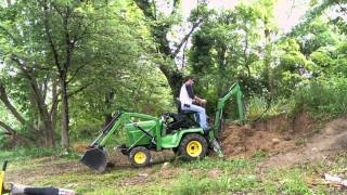 getlinkyoutube.com-John Deere 322 Custom Backhoe loader