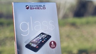 getlinkyoutube.com-Zagg Invisible Shield Glass iPhone 6 Screen Protector Review!