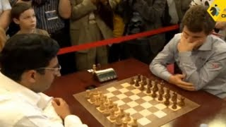 getlinkyoutube.com-Anand vs Carlsen - 2013 Tal Memorial Blitz Chess
