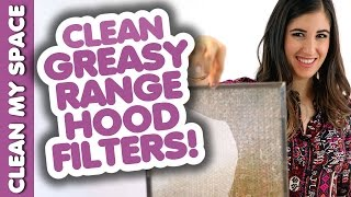 getlinkyoutube.com-Clean Greasy Range Hood Filters! How to Clean Your Stove Hood: Easy Cleaning Ideas (Clean My Space)