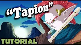 """getlinkyoutube.com-Como tocar """"Tapion"""" de Dragon Ball Z en flauta dulce"""