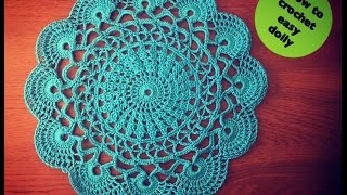 getlinkyoutube.com-How to crochet easy doily