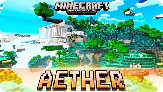 getlinkyoutube.com-Minecraft PE Maps - New AETHER Dimension without Mods! iOS & Android MCPE 0.15.9 / 0.15.0